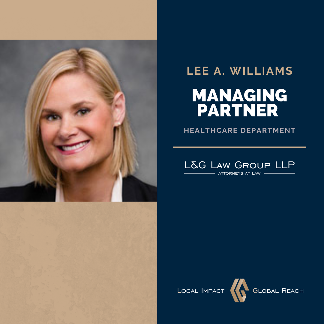 Lee Williams - Managing Partner